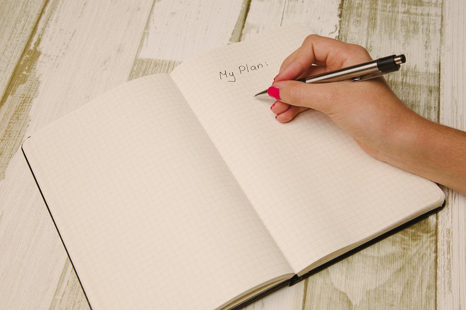 escribir los objetivos