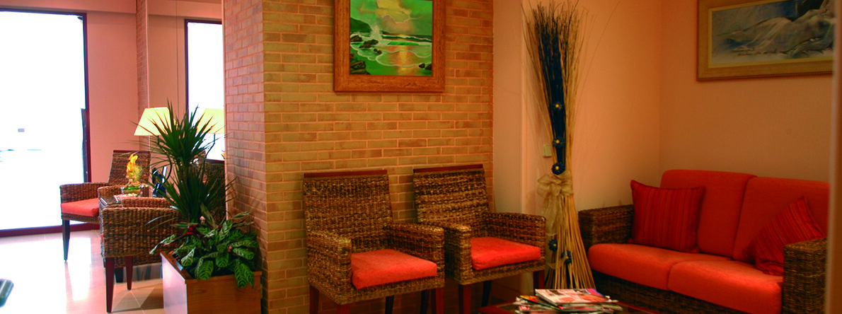 Zona de espera Clínica Fuensalud