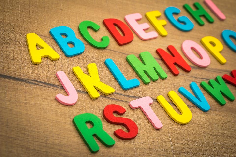 Conciencia fonológica letras