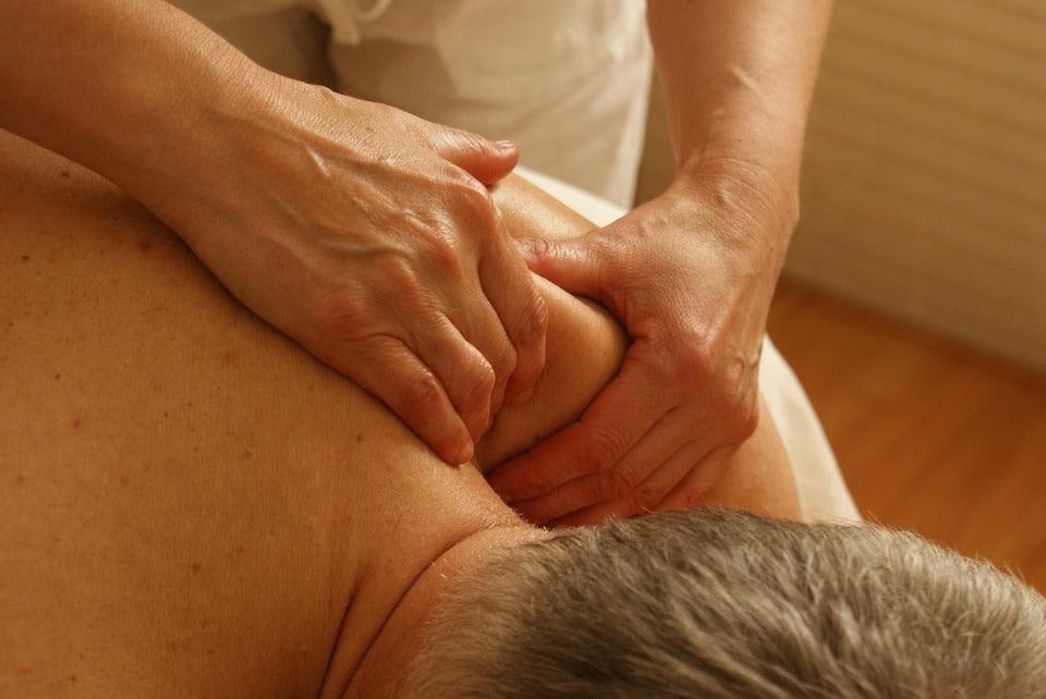fisioterapia en domicilio masaje