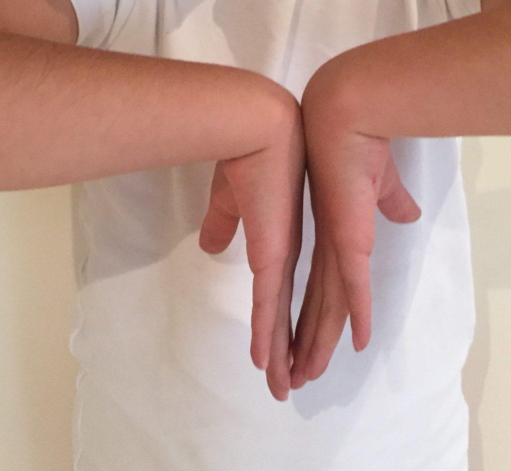 síndrome túnel carpiano con maniobra de Phalen
