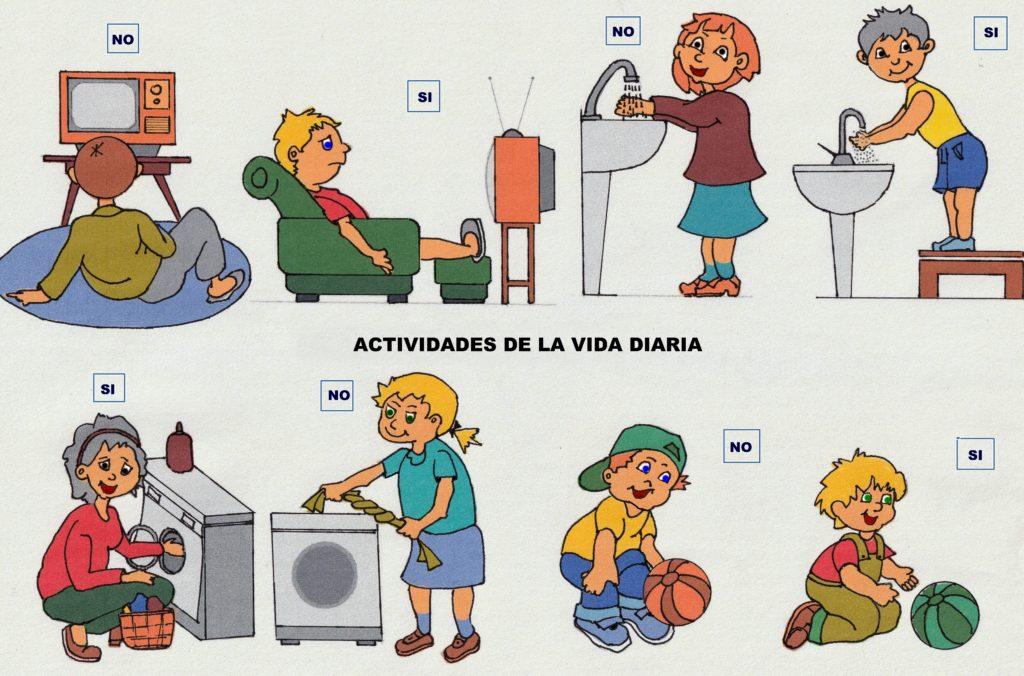 Higiene postural ACTIVIDADES DE LA VIDA DIARIA