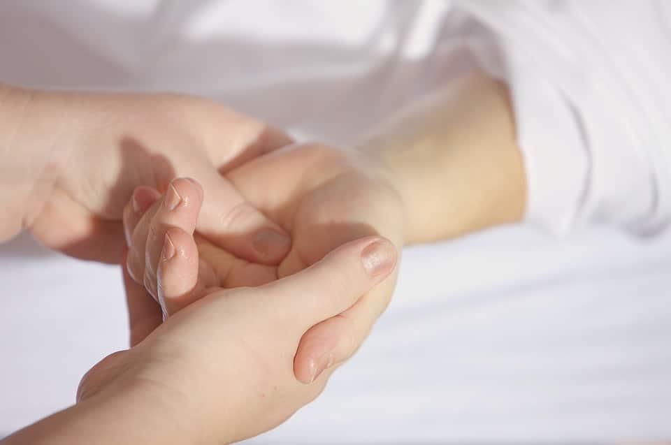 masaje Clínica Fuensalud Quervain