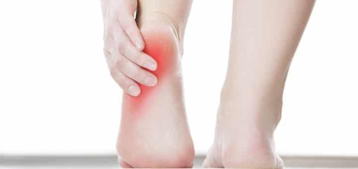 dolor en el talón pronador