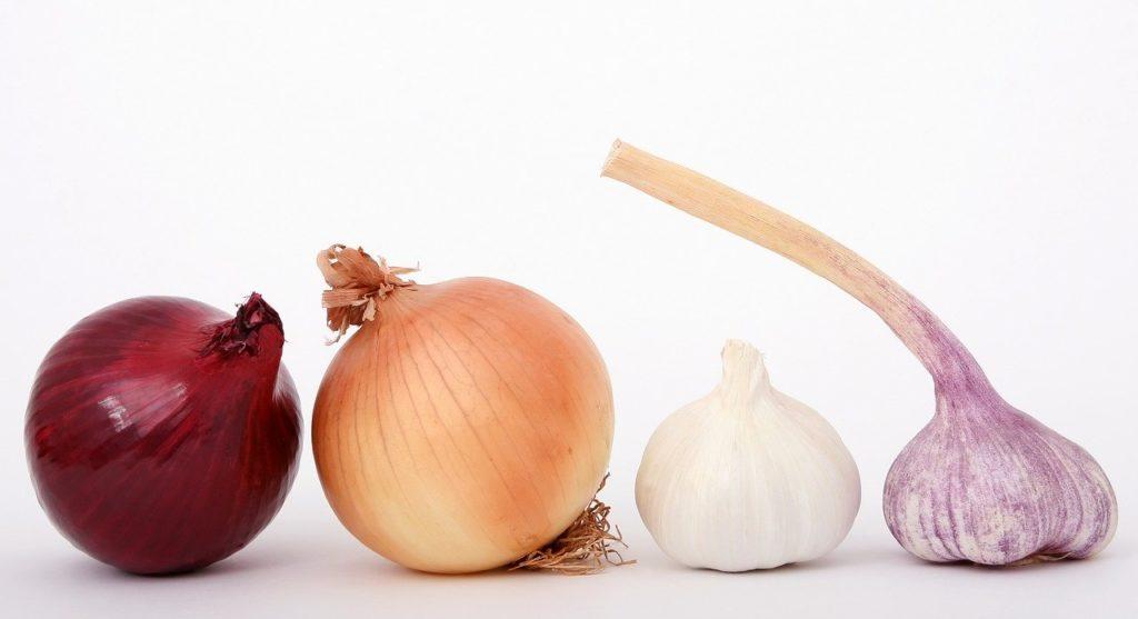 Cebolla y Ajo contra la gota por Clínica Fuensalud