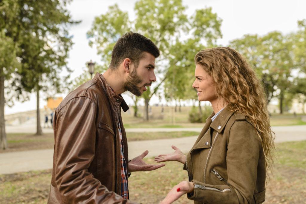 Discutir con tu pareja relación tóxica