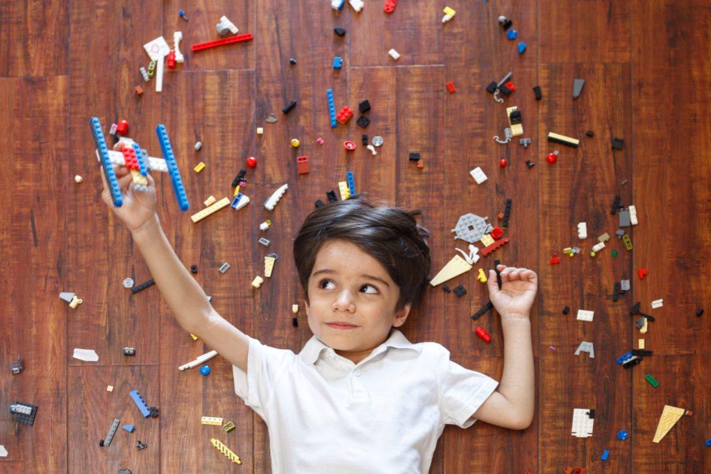 Lego para el desarrollo infantil por Clínica Fuensalud