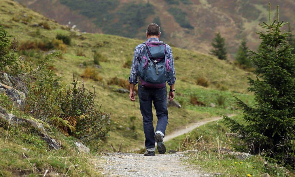 cuidar los pies para Caminar