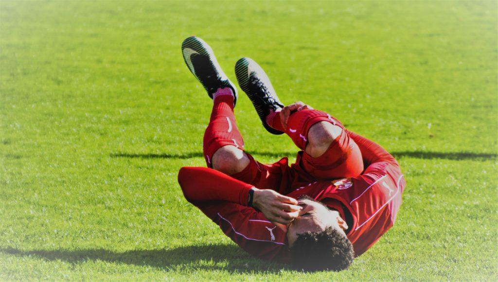 Lesión en el fútbol por Clínica Fuensalud