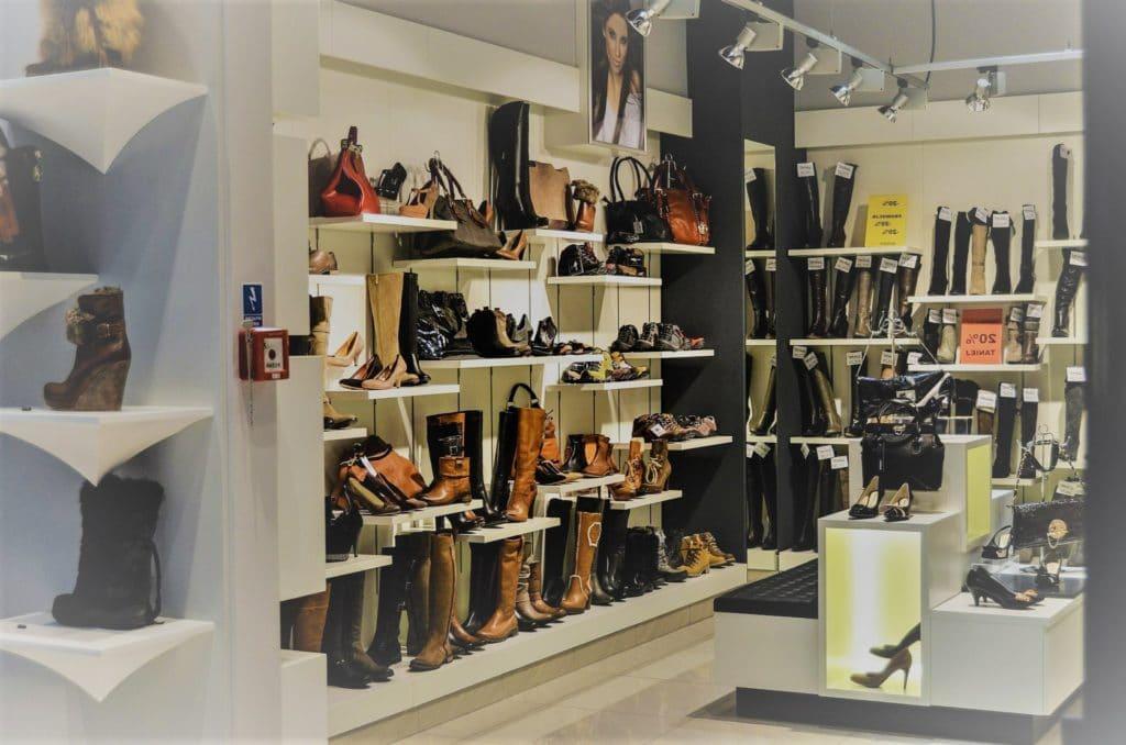 Zapatería para Elegir zapatos