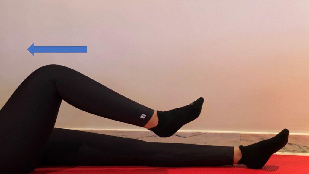 Flexión de cadera por Clínica Fuensalud