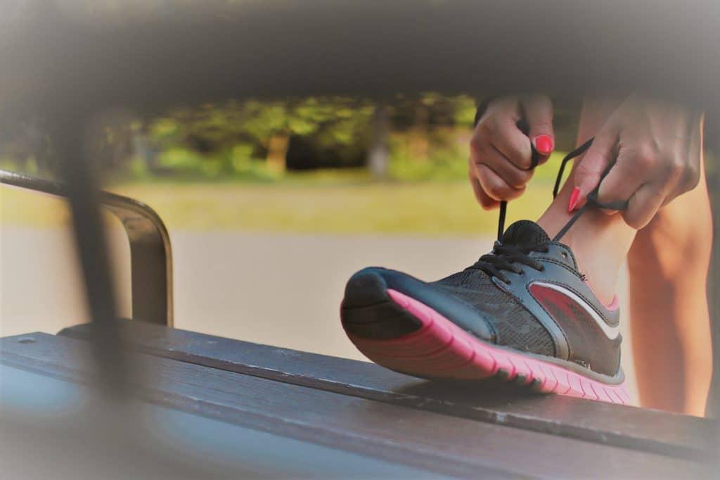 Zapatilla de deporte de Clínica Fuensalud