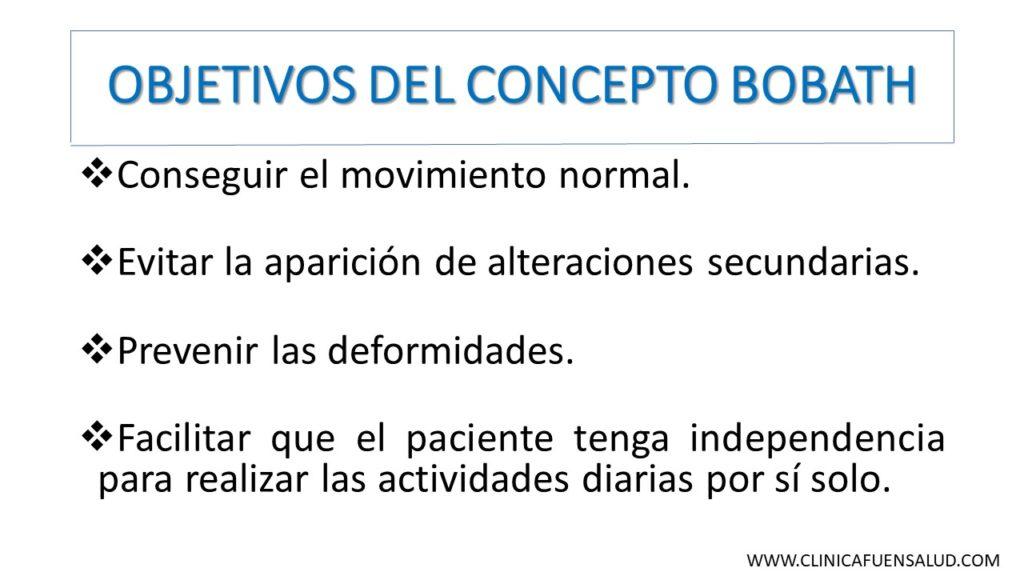 Objetivos del Concepto Bobath por Clínica Fuensalud